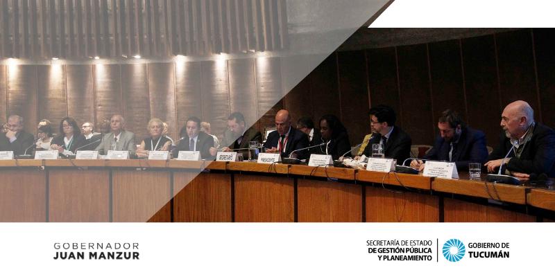 Tucumán participó en un encuentro internacional sobre Desarrollo Sostenible organizado por la CEPAL